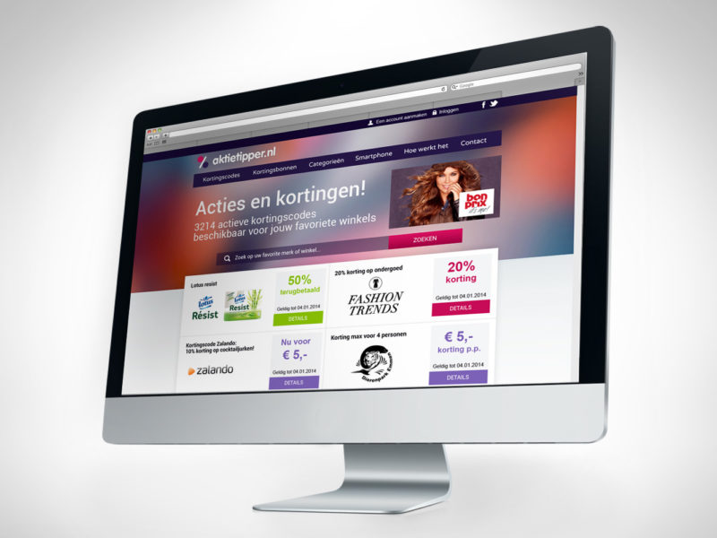 Webdesigner Maastricht, Aktietipper website design