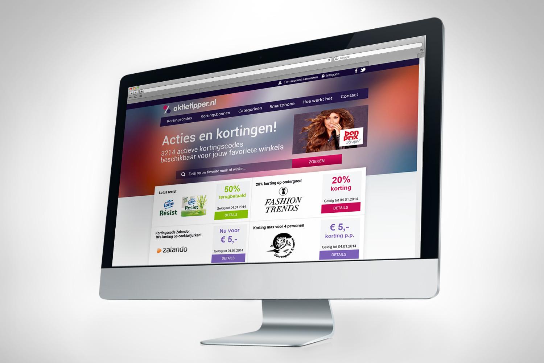 Webdesigner Maastricht, Aktietipper website design
