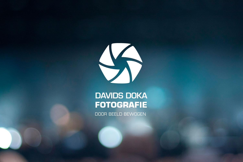 Grafisch ontwerper Maastricht, Davids Doka Fotografie huisstijl en logo ontwerp