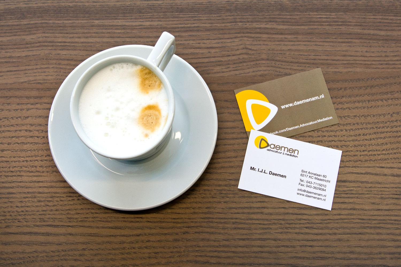 Webdesigner Maastricht, Daemen advocatuur en mediation huisstijl en website design