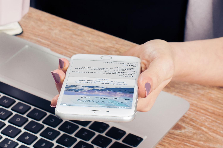 Webdesigner Maastricht, Mind Your Mind counseling website design en ontwikkeling